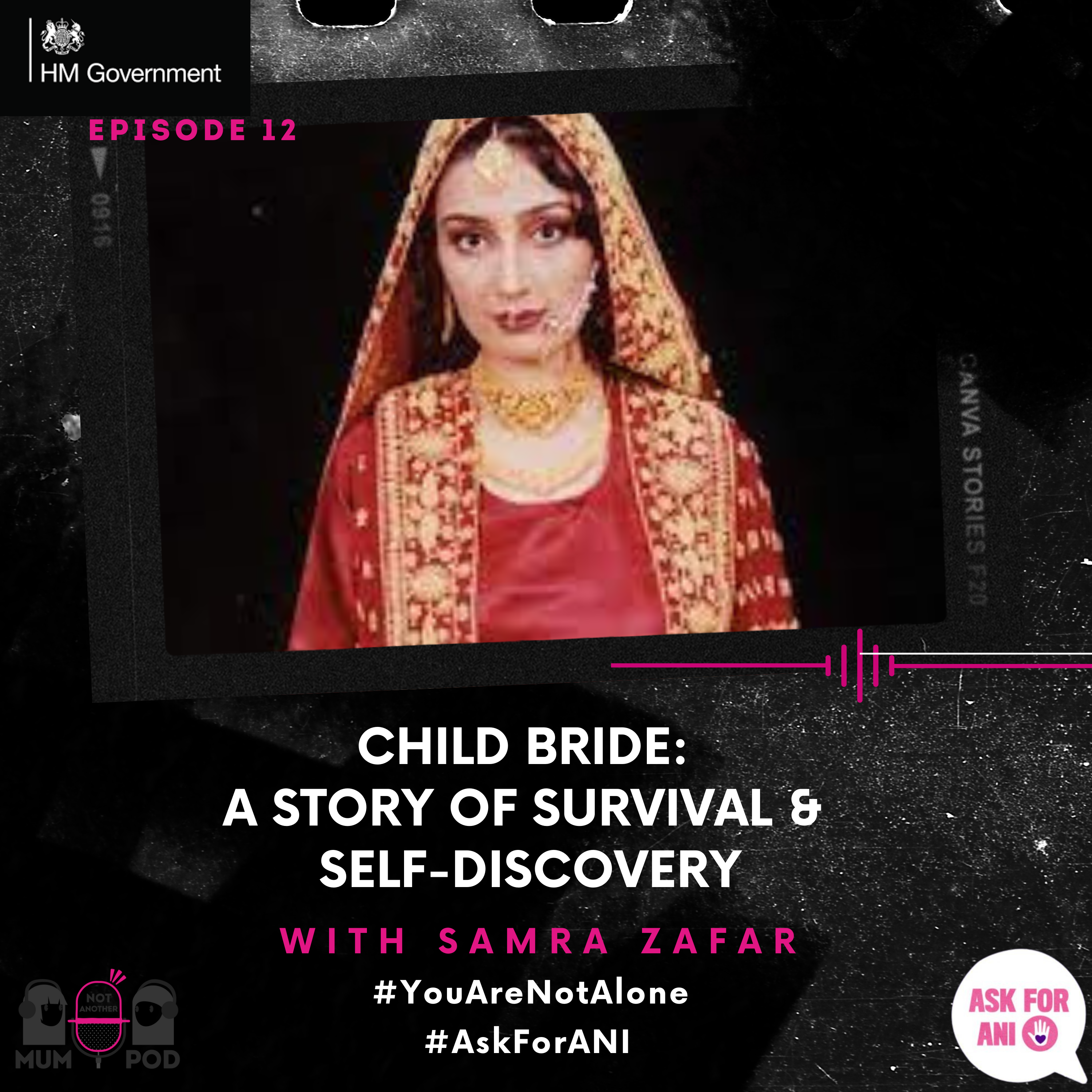 Read more about the article Ep 12. Child Bride: A Story of Survival & Self-Discovery (With Samra Zafar)